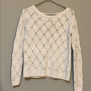 Tommy Hilfiger Cream Knit Sweater